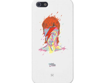 David Bowie Silicone phone case