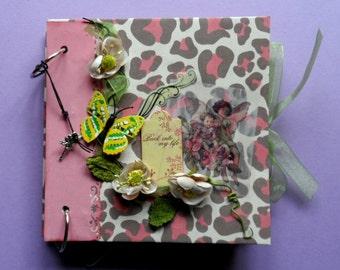"Scrapbook photo album ""Back into my life"" completely handmade Handmade"