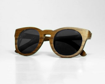 Parral - Wooden sunglasses - azanca eyewear
