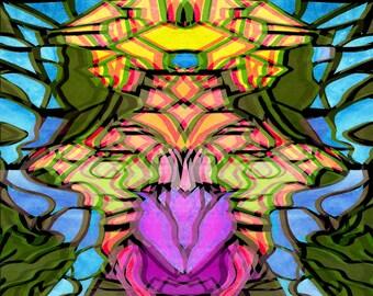 Chalice Calyx Corolla Tapestry