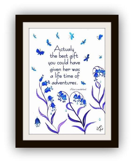 Printable Alice In Wonderland Quotes: Alice In Wonderland Quotes Printable Quote By SweepingGirlSays