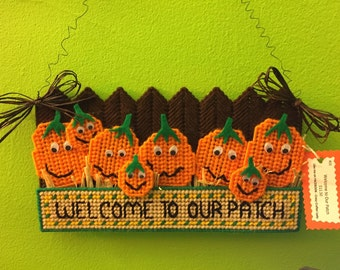 Welcome to Our Patch wall decoration