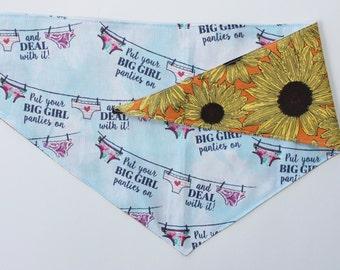 Sunflower Panties Bandana