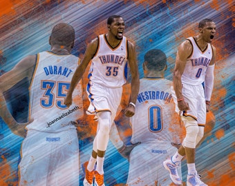 Kevin Durant and Russell Westrbook- OKC Thunder