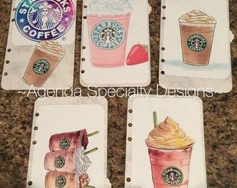 Starbucks Tabbed Agenda Dividers