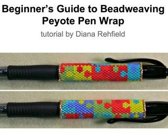 Beginner's Guide to Beadweaving (Peyote Pen Wrap) tutorial