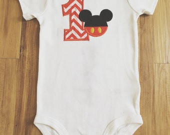 Mickey Mouse first birthday!