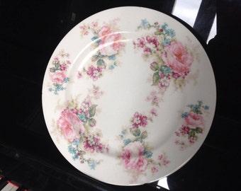 VERY RARE HAVILAND draft Unique 1905 Limoges porcelain plate