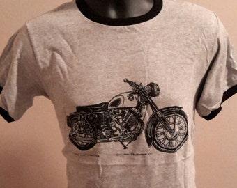 Model 120 Panther Vintage Motorcycle Tee - Christmas Sale!