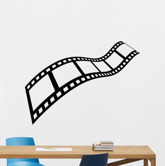 Film Strip Wall Decal Home Theater Decor Vinyl By CrazyDecals