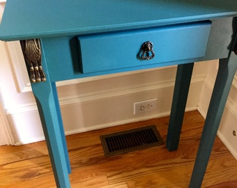 Refinished Bombay side table