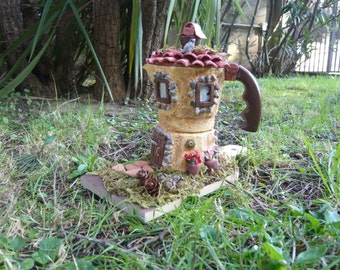 Handmade Decorated Coffeepot