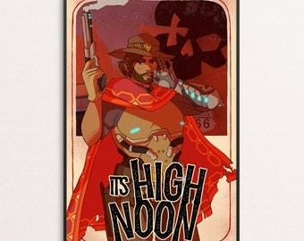 IT'S HIGH NOON - 11x17 print