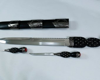 Scottish Dirk with Knife and Fork