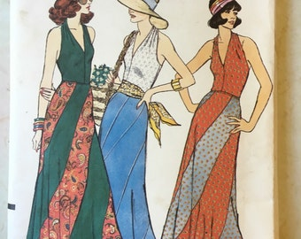 1973 Vogue Dress Pattern 8779