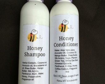 Honey  Shampoo& conditioner for Dry Hair