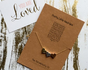 Pretty Little Necklace - Always remember you are braver than you believe, stronger than you seem ...