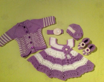 A set for baby girl 0 - 3 months