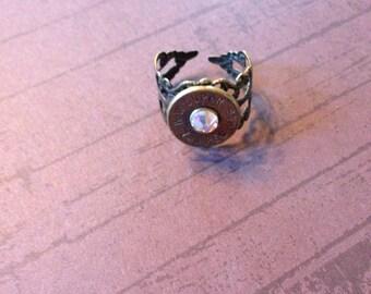 Brass Bullet Ring
