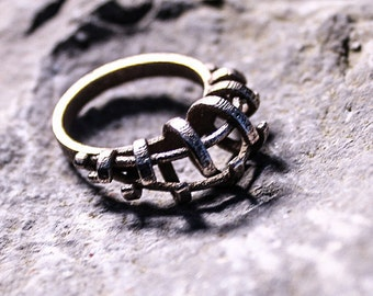 Boho Ring,  Bohemian Ring, Inscribed Ring, Available in Stainless Steel, Silver Ring, Gold, Bronze, Brass, Boho Jewellery, Unique Jewelry