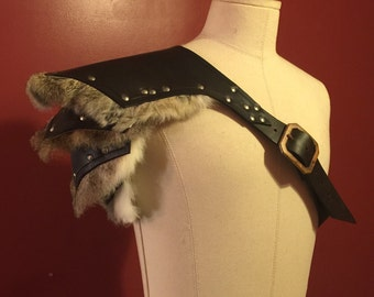 Barbarian skirt and shoulder combo