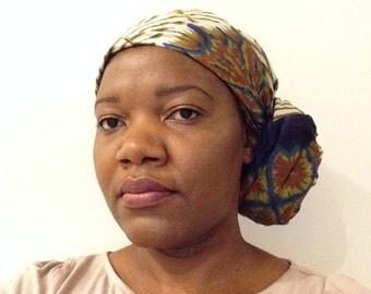 African Print Head wrap/scarf