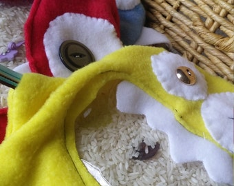 Quiet Toy, Figit Toy, Church Toy, ISPY, Monster Bags