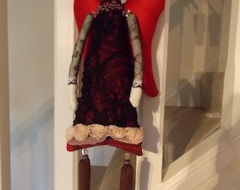 Fabric hanging Angel doll