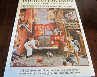 Norman Rockwell Cover Collection Saturday Evening Post 1916-1971