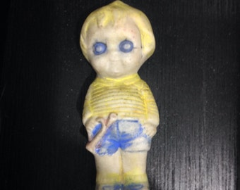 Scary Frozen Bisque Figurine