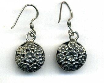 Morocco – modern sterling Silver Berber Earrings