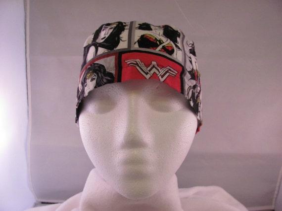 Men's Scrub Hat Wonder Woman