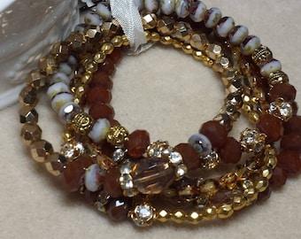 Rust n Gold n Vintage Gems