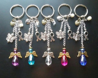 Handmade Keychains • Child Loss • Miscarriage • PCOS