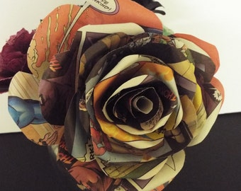 Large Book Flowers