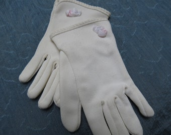 White Children's Sunday School Gloves