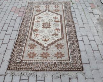 Vintage Turkish Rugs- Soft Colours - Anatolian Yagcibedir Rugs