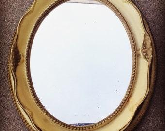 Vintage Standing Ornate Mirror