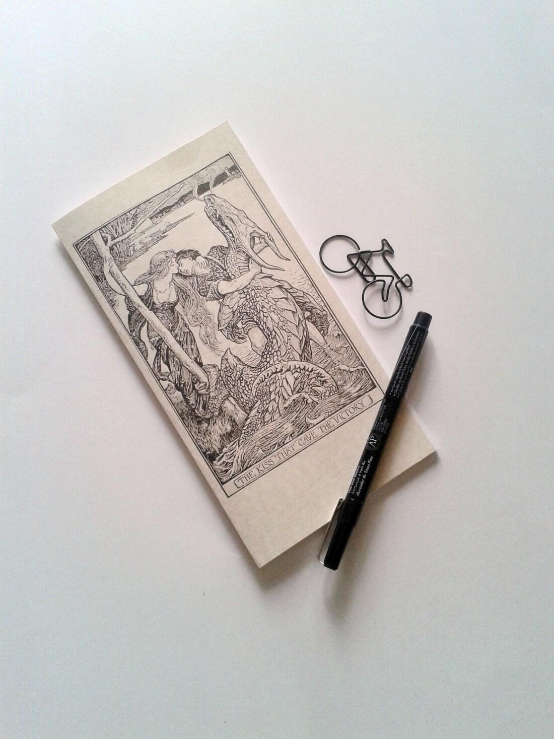 the kiss traveler 39 s notebook insert midori insert. Black Bedroom Furniture Sets. Home Design Ideas