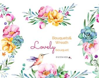 Lovely Bouquet. Bouquets&Wreaths