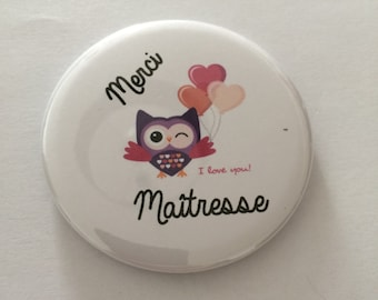 """Thank you Mistress"" ground OWL magnet"