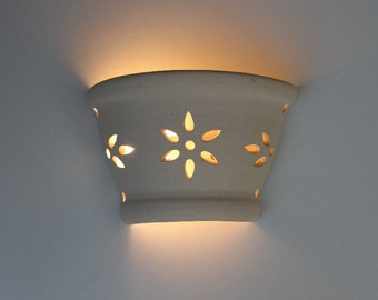 Wall lighting, Wall sconce, Lighting sconce, Living room lights, Wall fixture, ceramic wall lamp, spring