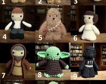 Star wars inspired dolls