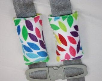 Minky Seat Belt Strap Covers