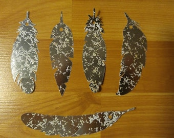 Feather Tags (set of 5, Ready To Ship)