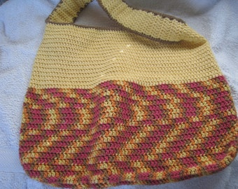 Handcrafted Crochet Bag Eco friendly