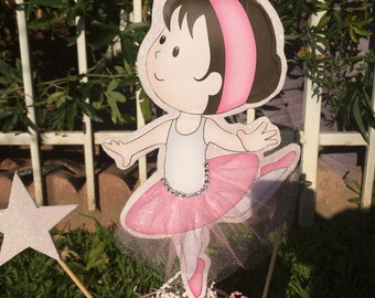 Little ballet dancer only sticks for your centerpiece