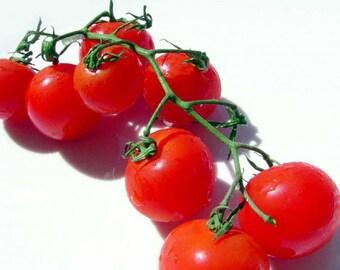 1g (200+) Organic Red Cherry -Tomato Seeds - Cherry Tomato Seeds, Organic Tomatoes, Red Cherry Tomatoes, Non-gmo