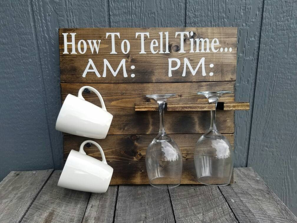 How To Tell Timehow To Tell Time Coffee Wine Rack How To Tell