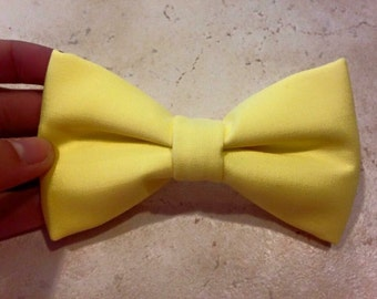 Solid Color Bow Ties and Hair Bows (with or without monogram)